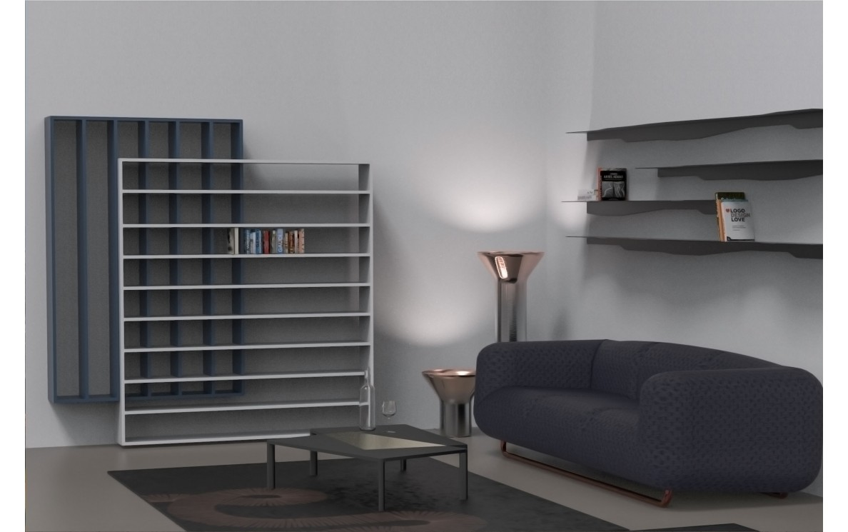 QUADRILLAGE bookcases